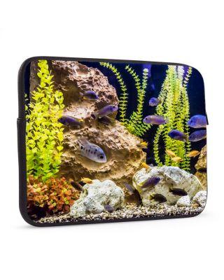 Laptop sleeve 17 inch Aquarium