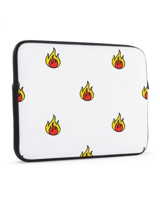 Laptop sleeve 17 inch On fire