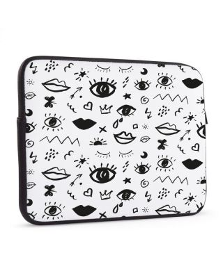 Laptop sleeve 17 inch Doodle