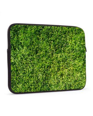 Laptop sleeve 17 inch Groen als gras