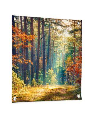 Tuinposter eigen ontwerp 50x50 cm vierkant
